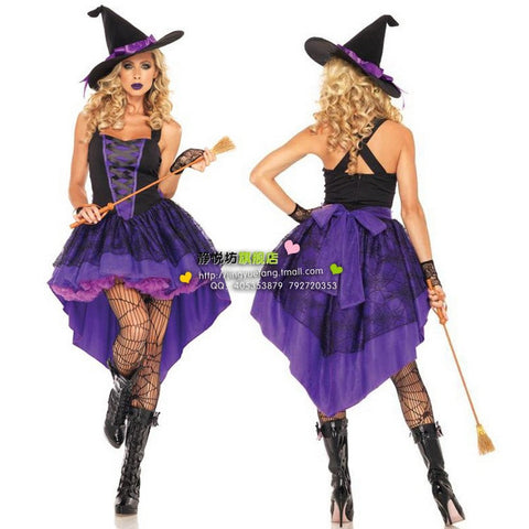 Swallow-Tailed Coat Witch Costume