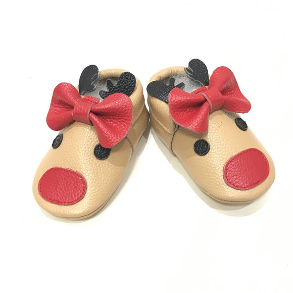 Reindeer Bow Moccs