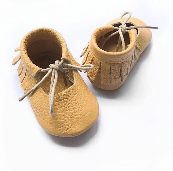 Yellow Ballet Moccs