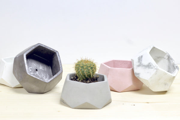 Geometric Hexagon Planter