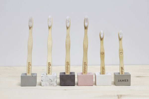 Square Toothbrush Stand