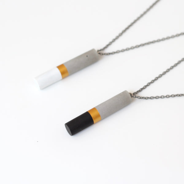 Tube pendants No2