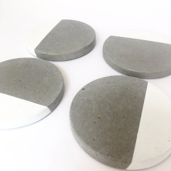 Round Dipped Coasters