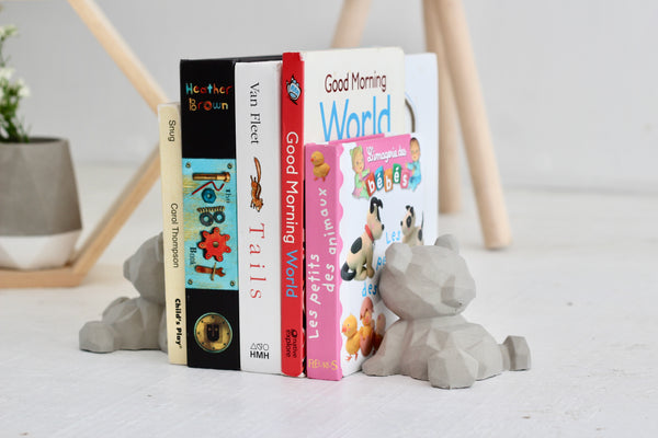 Bear Bookends for Nurseries and Kids Bedroom