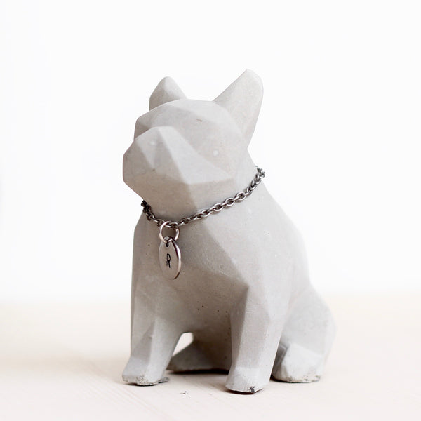 Concrete French Bulldog