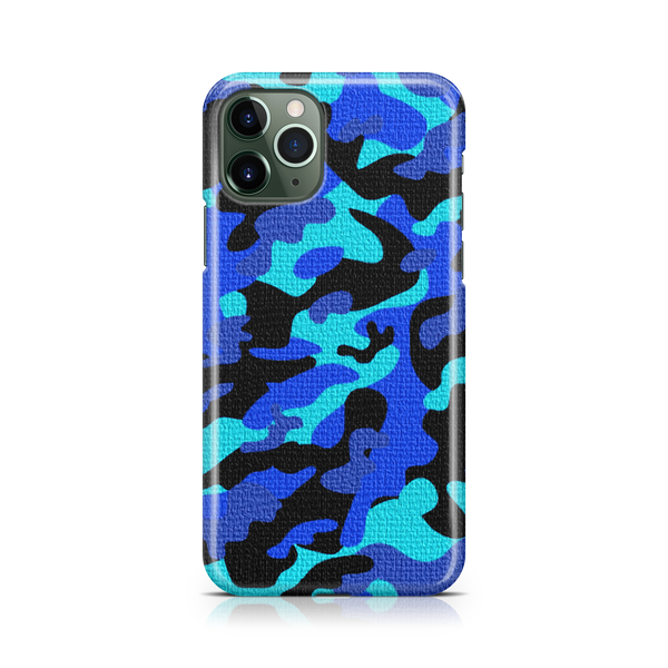 Blue Camo - iPhone