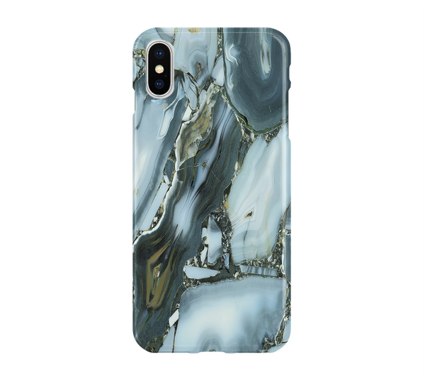 Blue Grey Agate - iPhone