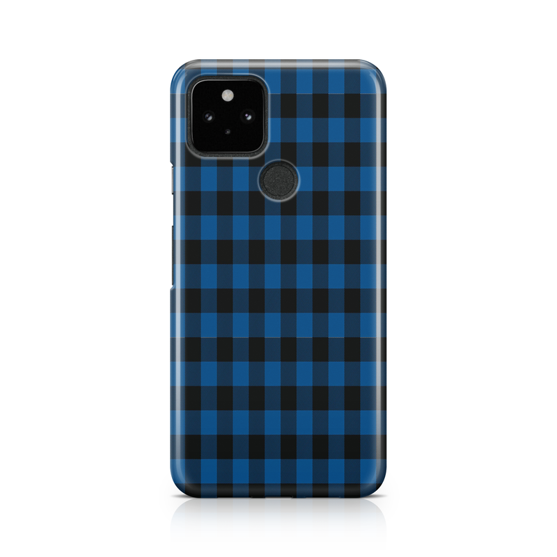 Blue Plaid Tartan - Google, LG, OnePlus