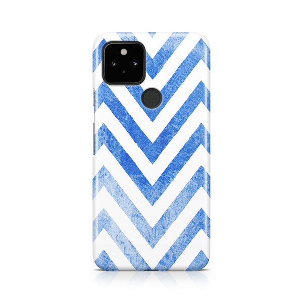 Blue Watercolor Chevrons - Google, LG, OnePlus