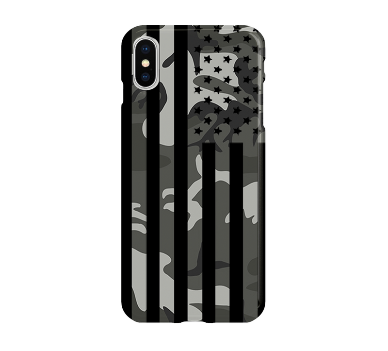 Camo American Flag - iPhone