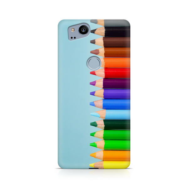 Colored Pencils - Google, LG, OnePlus