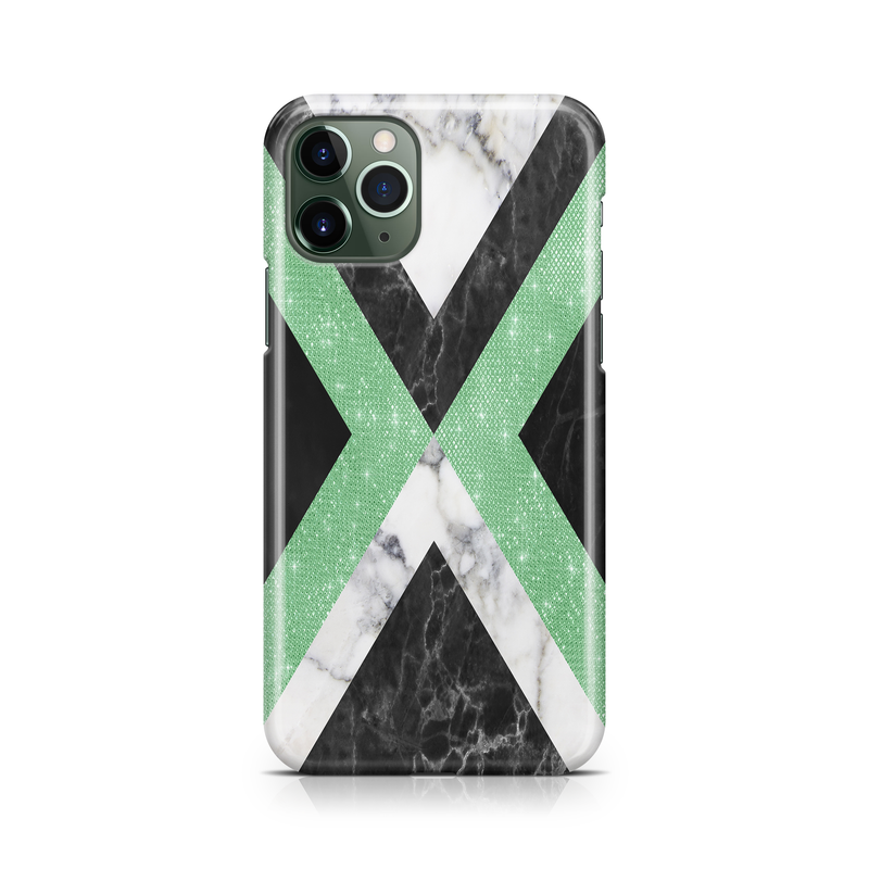 Mint Foil Marble III - iPhone