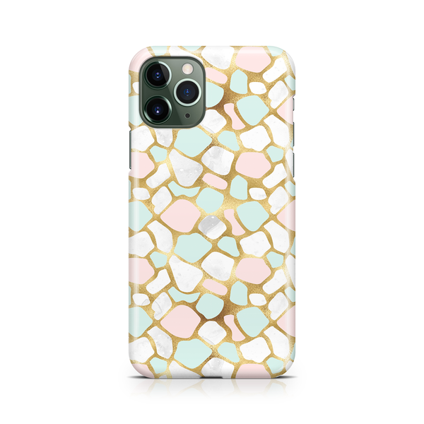 Mint Pink Gold III - iPhone