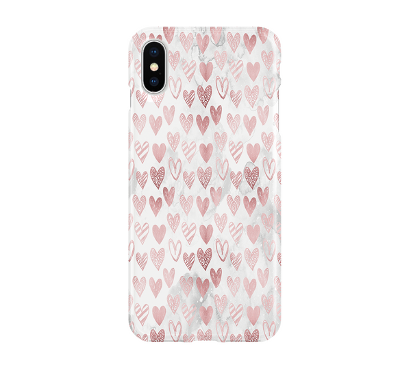 Pink Heart - iPhone
