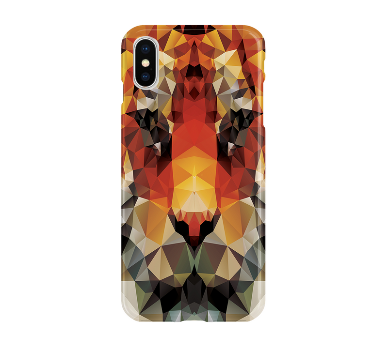 Polygonal Tiger - iPhone
