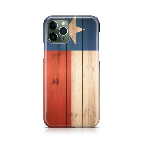 Wooden Texas Flag - iPhone