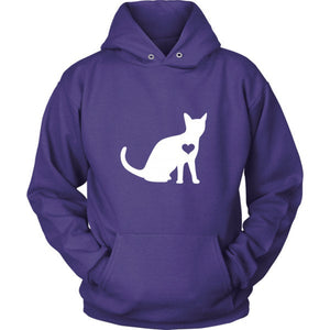 Heart Your Cat Hoodie