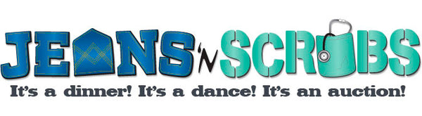 Jeans and Scrubs Logo