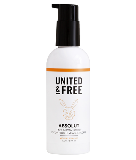 Cruelty Free Body Lotion from United and Free for all skin types