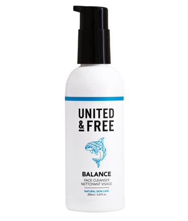 Natural Face Cleanser from United and Free Skin Care