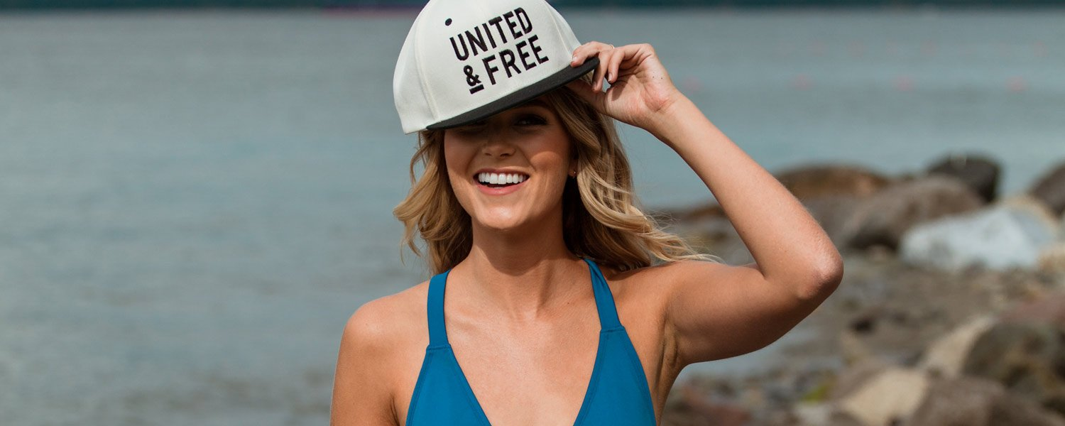 Girl OG Snapback Baseball Hat UNITED & FREE Natural Skincare