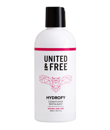 Hydrofy Conditioner Free from silicone united and free natural skincare