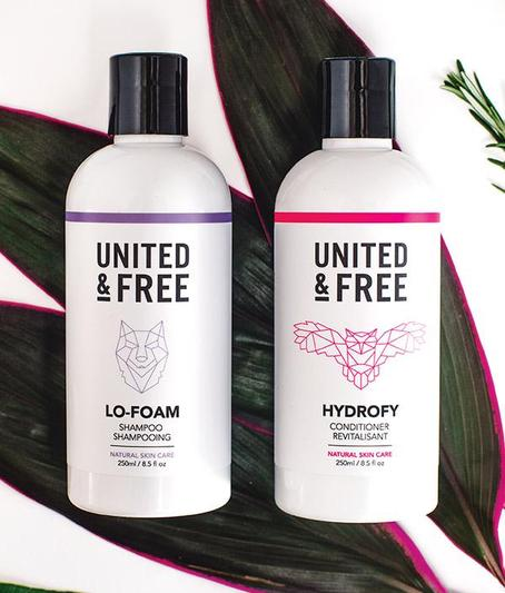 Vegan Natural Shampoo and Conditioner