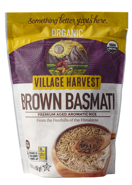Village Harvest Organic Brown Basmati Rice