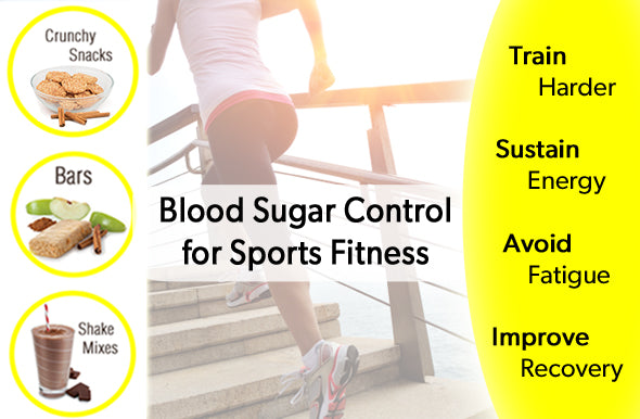 Control Blood Sugar for Sports Performance