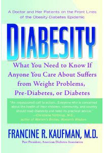 Diabesity Book - by Dr. Kaufman, M.D.  (paperback)