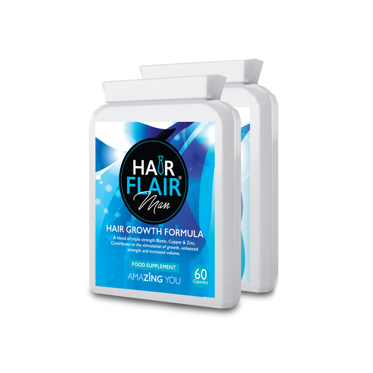 Double Pack - Hair Flair® Man ** Buy Two, get a Third FREE**