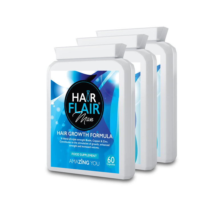 Triple Pack - Hair Flair® Man