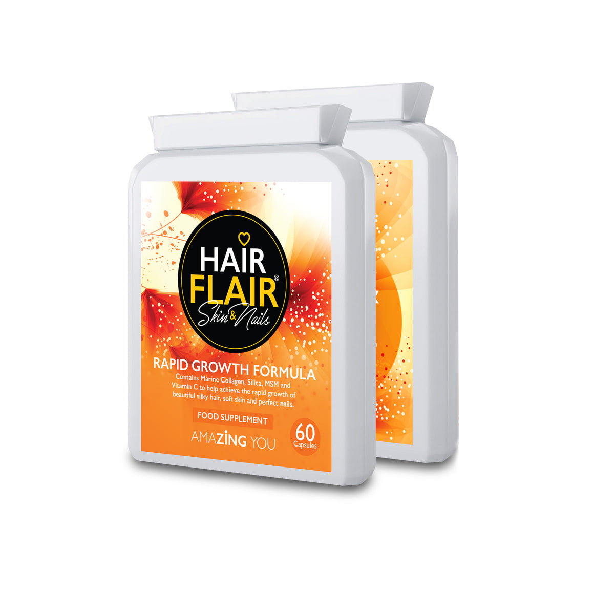 Double Pack - Hair Flair® Skin & Nails  **Buy Two, get a Third FREE**