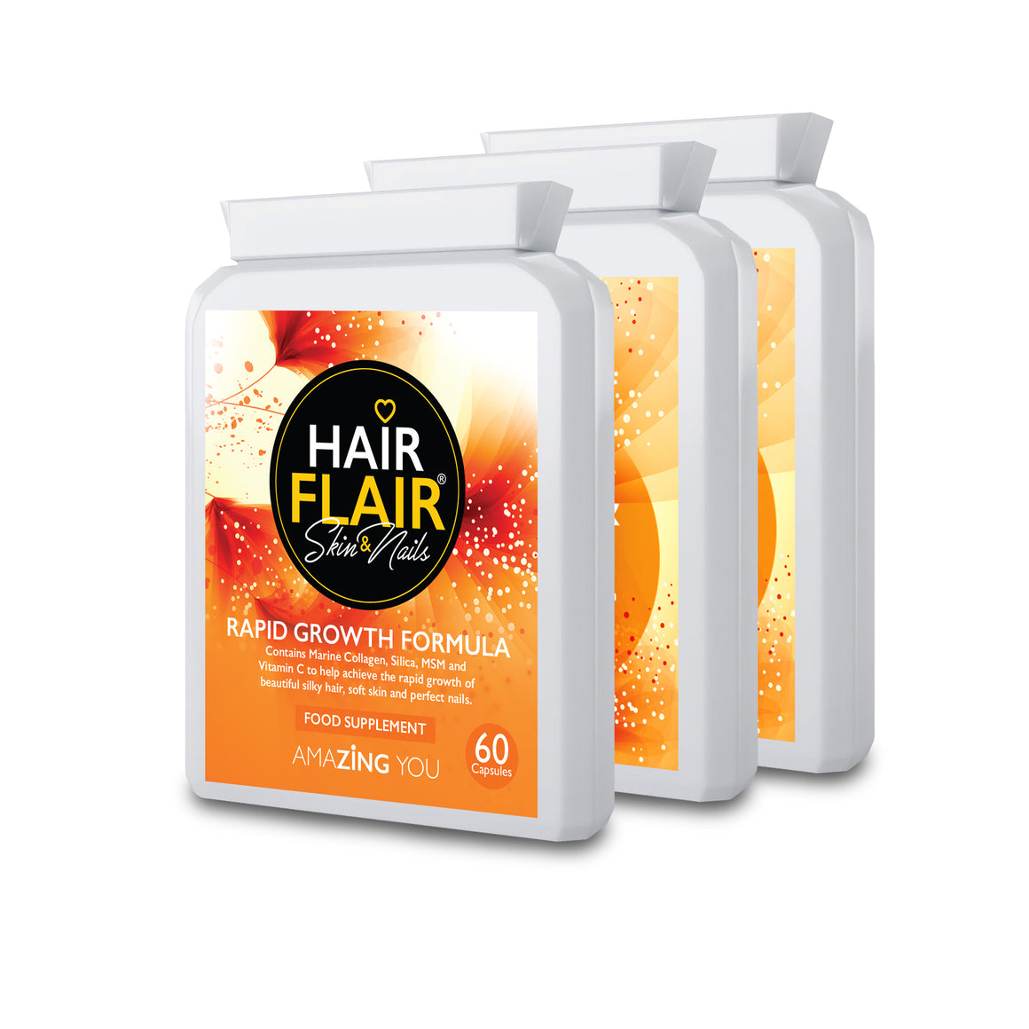 Triple Pack - Hair Flair® Skin & Nails