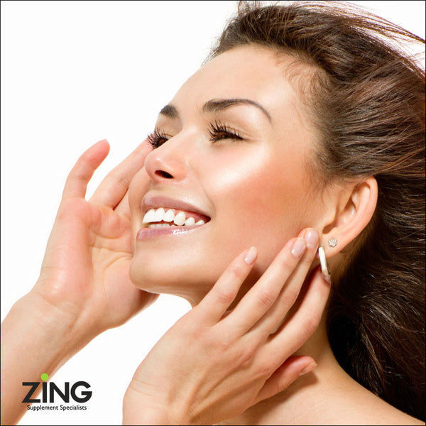 ZING Hair, Skin and Nails  - #1 Bestselling beauty supplement for lustrous silky hair, soft vibrant skin and perfect nails.
