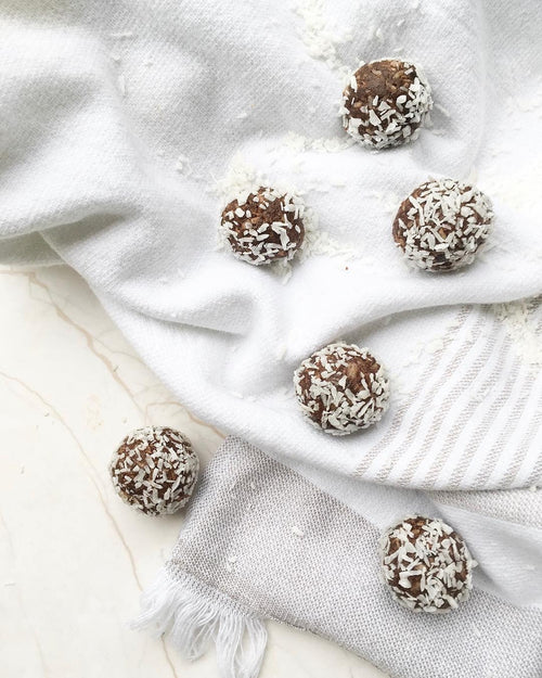 Chocolate Coconut Protein Balls