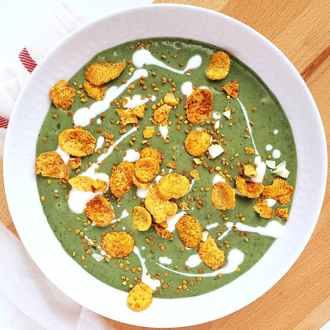 Matcha Vanilla Smoothie Bowl