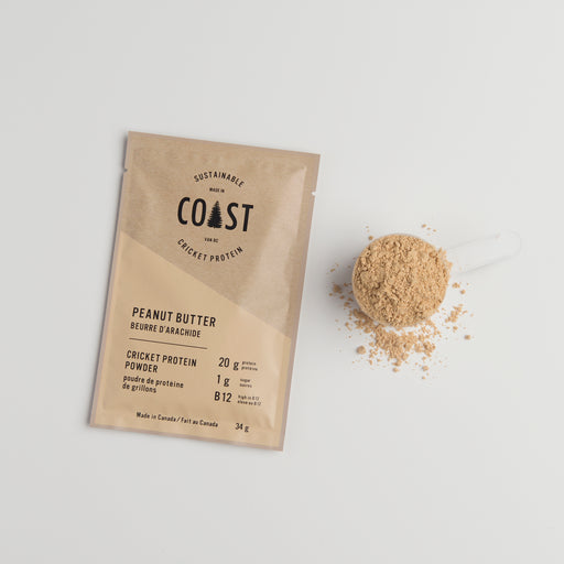 Peanut Butter Cricket Protein Single Sachet