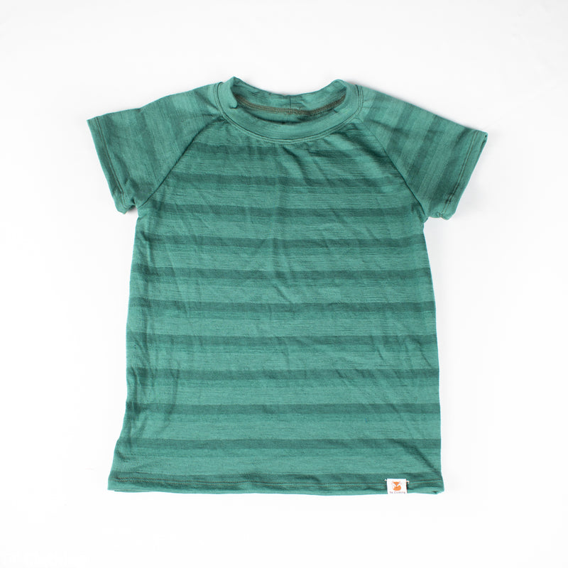 Merino Wool Short Sleeve Top