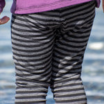Striped Merino Leggings - Made to Order