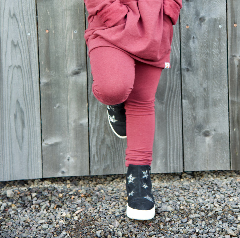 Organic Adjustable Leggings - Solids