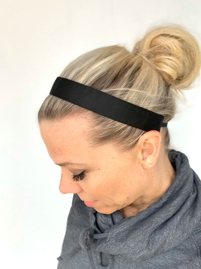 Black Ribbon Headband