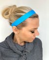 Blue Ribbon Headband