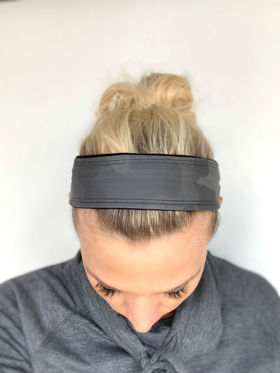 "Fitness 2"" Headband (Green Camouflage)"