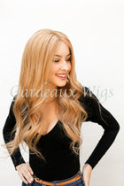 Color 27 Full Lace Silk Top 100% Human Remy Hair Wig at Gardeaux Wigs