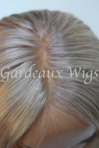 Pure Platinum Full Lace 100% Human Remy Hair wig at Gardeaux Wigs