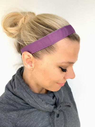 Purple Ribbon Headband