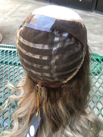 # 3610 GARDEAUX FRENCH SILK TOP WIG (SMALL CAP)