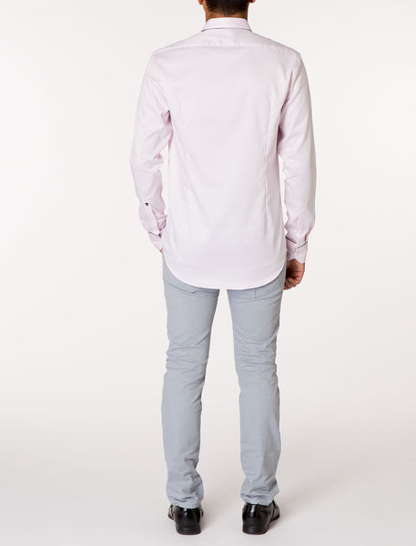 JARR Long Sleeve Solid Woven Shirt