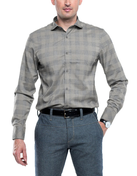 BAIL Long Sleeve Plaid Shirt